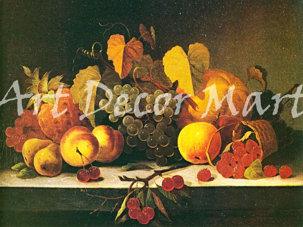Still Life-Peale - - CANVAS OR PRINT WALL ART