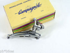Campagnolo Nuovo Record Front Derailleur NEW Braze on Vintage RAcing Bicycle NOS