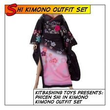 PHICEN Shi Kimono Outfit Set fit 1/6 12 in scale Female Figure