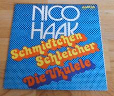 DDR Vinyl Single+ Nico Haak + Schmidtchen Schleicher / Die Ukulele Schallplatte
