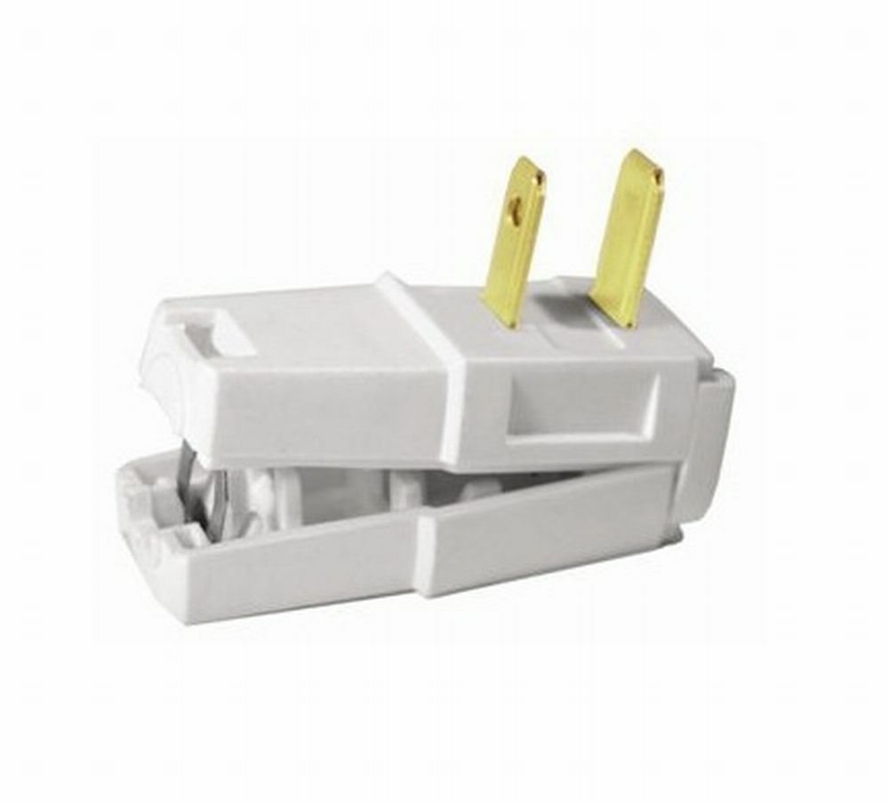 Leviton C22 321w White Residential Easy Wire Angle Plug Ebay Wiring Nema 6 50r Receptacle Further Cooper As Stock Photo