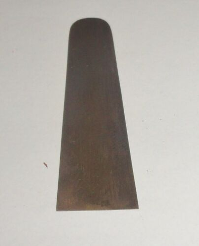 Vintage Earl Dennison Reelfoot Lake Style Metal Reed For Duck Call Round End