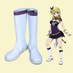 Fairy Tail Dragon Cry Lucy Heartfilia Cosplay Leather ...