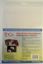 Stix2 Hojas A4-Con Calor-En Hierro Adhesivos-de diversos materiales