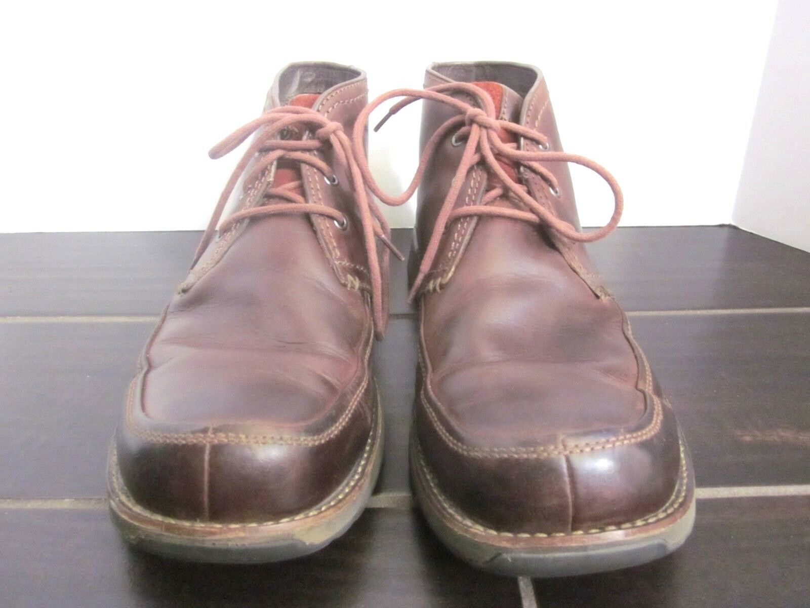 Merrell Realm Chukka Ankle Boot Cinnamon Leather Brown shoes Men 11.5 (C04)
