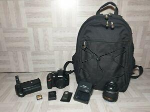 Nikon-D3200-DSLR-Telecamera-Nikon-18-55mm-Obiettivo-Zoom-VR