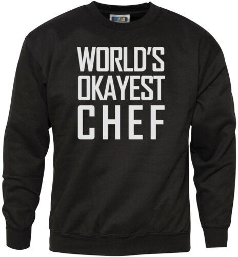 World/'s piccole Chef Felpa Da Uomo Unisex