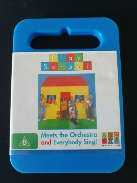 Play School - Everybody Sing! / Meets The Orchestra (DVD) Region 4 - FREE POST!!