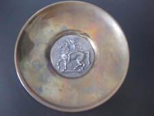 Ilias Lalaounis kleiner Teller Messing 900er Silber