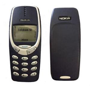 Nokia 3310 Original Unlocked Classic Cell Phone Dark Blue Gsm 900 1800 Free Ship 129878656147 Ebay
