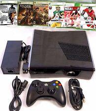 Microsoft Xbox 360 with Kinect 4GB Black Console (NTSC)