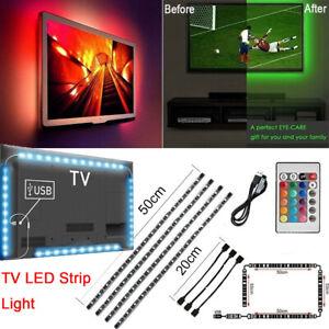 USB-Powered-5V-RGB-LED-Strip-Light-Remote-Control-For-Bar-TV-Background-Lighting