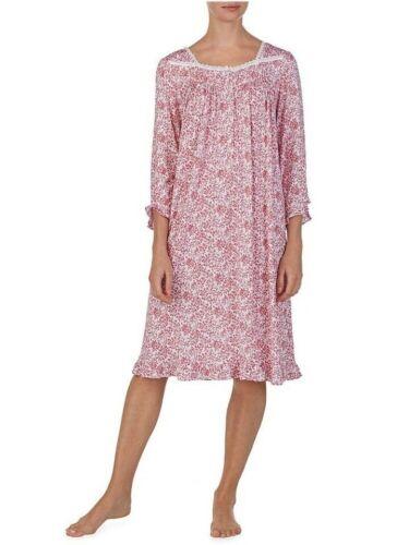 769373436709 Nwt Modal 68 3x Eileen Print Micro White Floral notte West Waltz Camicia Red da fq6Y7q