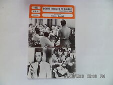 CARTE FICHE CINEMA 1957 DOUZE HOMMES EN COLERE Henry Fonda Lee J.Cobb EG Marshal