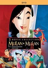 Mulan 1 & 2 Two-Movie Collection DVD Set Disney I II BRAND NEW