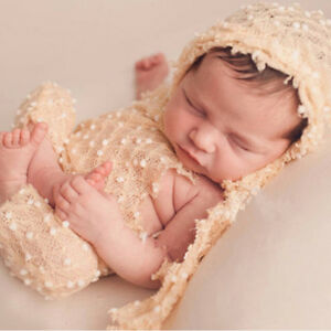 5dbd4818b69f5 Details about Baby Photography Props Boy Girl Photo Shoot Outfits Newborn  Crochet Costume Z