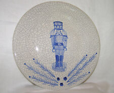 """NASH POTTERY """"NUTCRACKER"""" COMMEMORATIVE 1997 X-MAS PLATE, SIGNED+DATED+NUMBERED"""