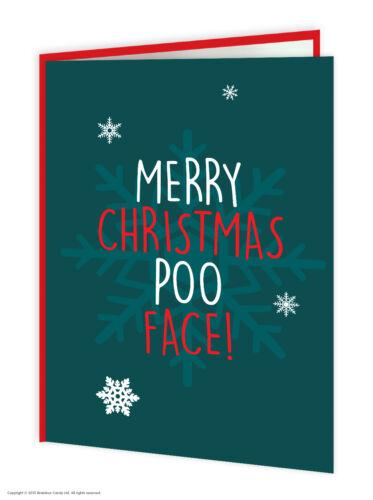 Super Bonbon drôle rude offensive de Noël de Noël Carte Multi Pack de 10 Cheeky