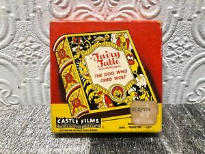 Vintage-8mm-Castle-Films-Movie-Film-Fairy-Fable-Cartoon-The-Dog-Who-Cried-Wolf