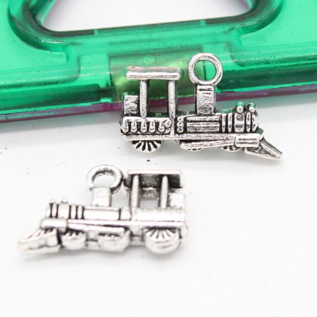 30//100pcs retro style antler alloy DIY charms pendants 60x19mm
