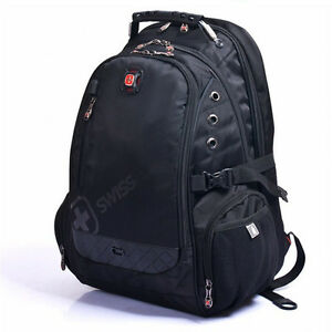 Men-039-s-Women-039-s-Backpacks-Laptop-Notebook-Bags-Outdoor-Rucksacks-Bookbag-SwissGear