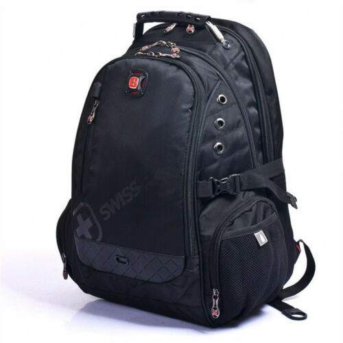 Men/'s Women/'s Backpacks Laptop Notebook Bags Outdoor Rucksacks Bookbag SwissGear