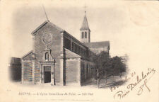 DIEPPE 110 l'église notre-dame du pollet timbre noir 1 1901
