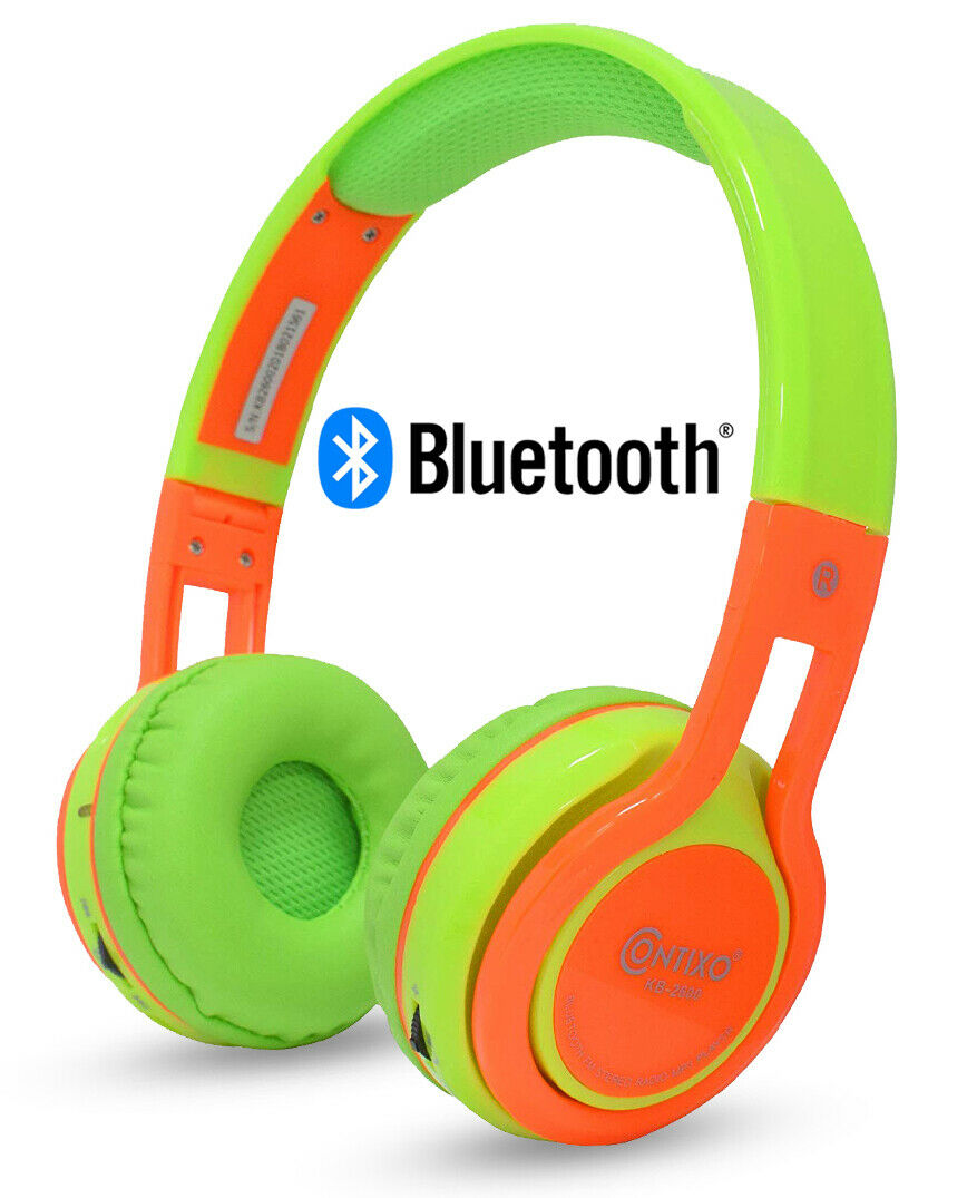 Contixo Kid Safe 85db Foldable Wireless Bluetooth Headphone Built In For Sale Online Ebay