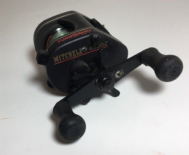 Mitchell 6630Z TurboMag  Fishing Reel - Made in Japan  the latest models
