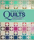 Quick and Easy Quilts: 20 Modern Machine Quilting Projects by Lynne Goldsworthy (Hardback, 2016)
