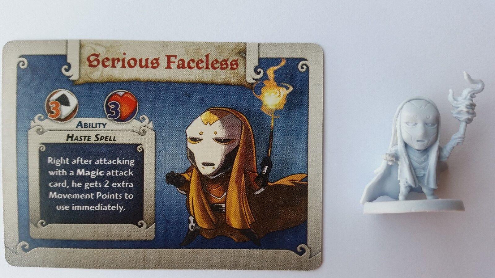 Arcadia quest promo serius Faceless, very difficult to get