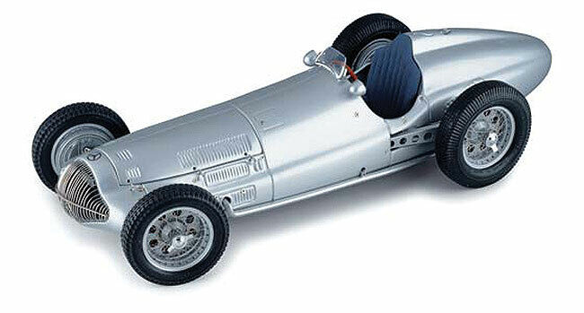 1 18 CMC 1938 Mercedes-Benz W154 Argent M025