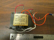 Lambda ABA-LOS-W-5-2 Transformer From 5V Linear Power Supply