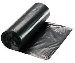 Black Groundsman Heavy Duty Refuse Sacks 100L Roll of 50