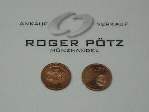 Monaco-2-Cent-Currency-Coin-2001-Bankfrisch-Very-Rarely