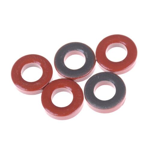 5 pieces Minimetals Amidon T68-2 Iron Toroidal Core T-68-2 Toroid@M