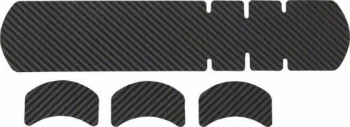 en cuir carbone Nouveau Lizard Skins Adhesive Vélo Protection Grand Cadre Protecteur