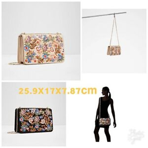 63f50a4b874 New With Tags Aldo AFERIDIA SUEDE EMBROIDERED PURSE Crossbody New ...