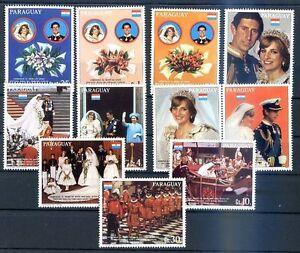 PARAGUAY - LADI DI Mi # 3455/64 Complete Set MNH, VF