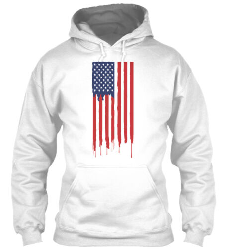 American Standard Supersoft Sweat à capuche Flag College QrdCths