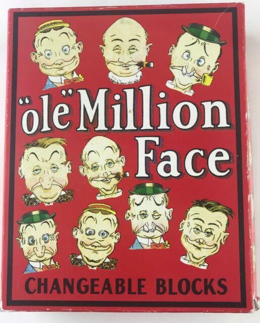 Ole Million Face Changeable Blocks