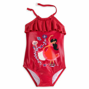 2a11a56e15 Disney Store Elena of Avalor One PC Swimsuit Girl Size 5/6 | eBay