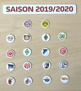 Details Zu Bundesliga Logo Magnete Saison 2019 20 Alle 18 Fussball Vereine