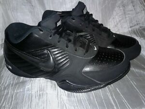 4cd94825dc40 Mens Nike Air Baseline Low Basketball Shoes Size  7 Black on Black ...