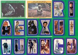 Star-Wars-Empire-ESB-Series-3-Complete-22-Card-Sticker-Set-1980-Topps-NM
