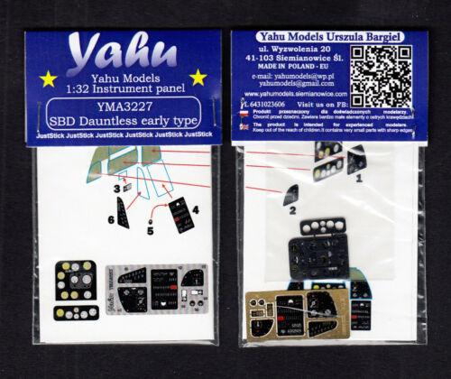 yma3227// YAHU Models Instrument panel SBD Dauntless 1:32