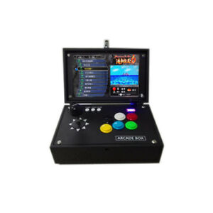 7abc658627d4e Details about Original 3D pandora 6 1300 games in 1 mini arcade game machine  with 10 inch LCD