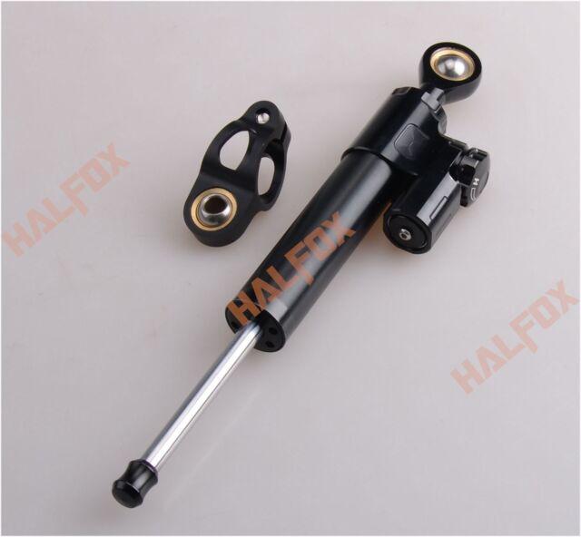Black Steering Damper Stabilizer Fit YAMAHA YZF R1 R6 XJ6 FZ6 FZ8 FZ1 XJR1300