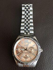 Ladies-034-Limit-034-6P29-6078-Stainless-Steel-amp-Rose-Gold-Wristwatch