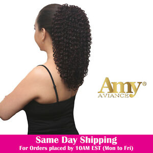 Details About Amy Aviance Oprah Drawstring Ponytail Hair Extension 14 16 Inches Long